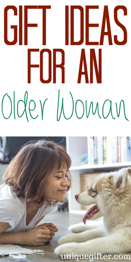 Best ideas about Gift Ideas For Older Women . Save or Pin 20 Gift Ideas for an Older Woman Unique Gifter Now.