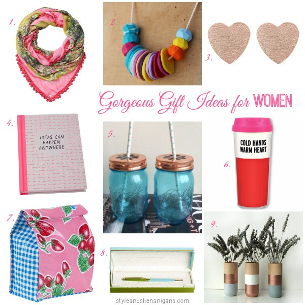Best ideas about Gift Ideas For Older Women . Save or Pin Gorgeous Gift Ideas for Women Style & Shenanigans Now.