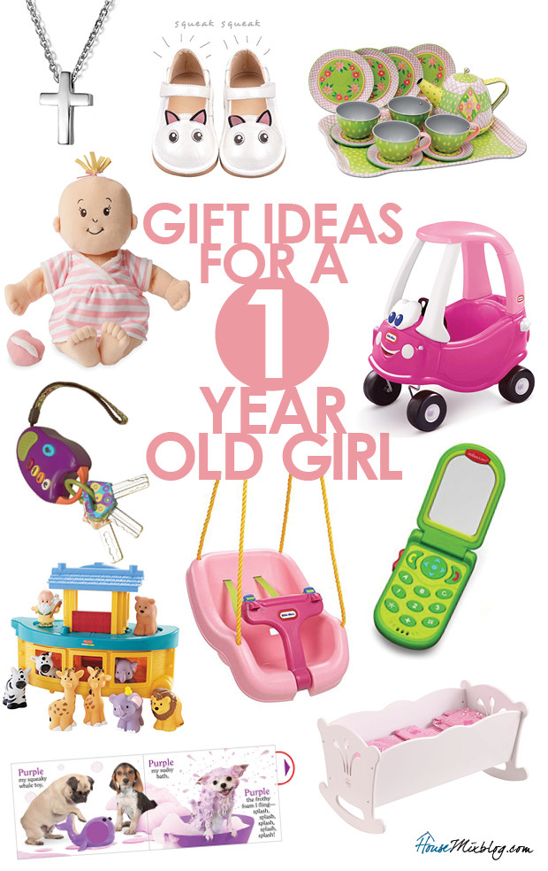Best ideas about Gift Ideas For One Year Old Baby Girl . Save or Pin Toys for 1 year old girl Now.