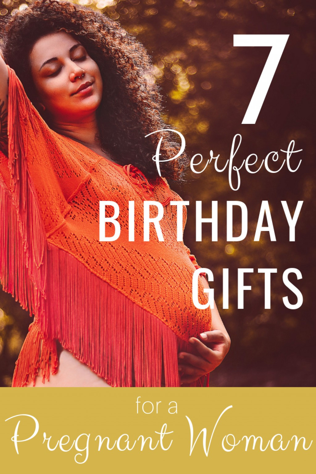 Best ideas about Gift Ideas For Pregnant Daughter . Save or Pin 7 Perfect Birthday Gifts for Your Pregnant Wife Now.