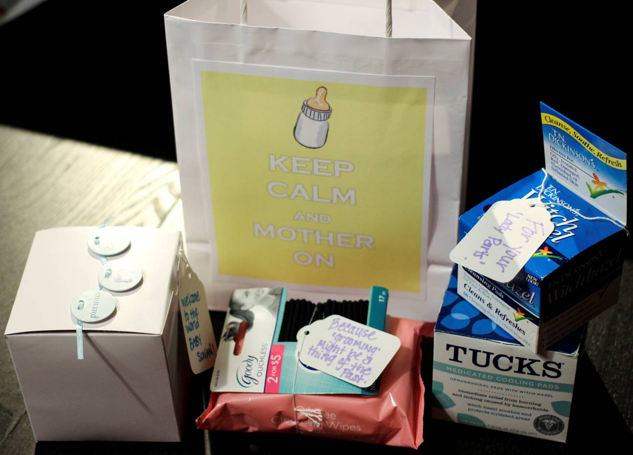 Best ideas about Gift Ideas For Pregnant Sister . Save or Pin rnlMusings Baby Week Preggo & New Parent s Gift Basket Now.