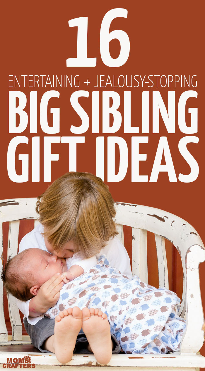 Best ideas about Gift Ideas For Sibling From New Baby . Save or Pin Big Sibling Gifts for when your new baby arrives Now.