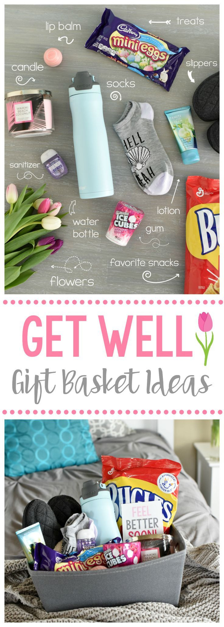 Best ideas about Gift Ideas For Sick Friend . Save or Pin Get Well Soon Gift Ideas make a t Now.