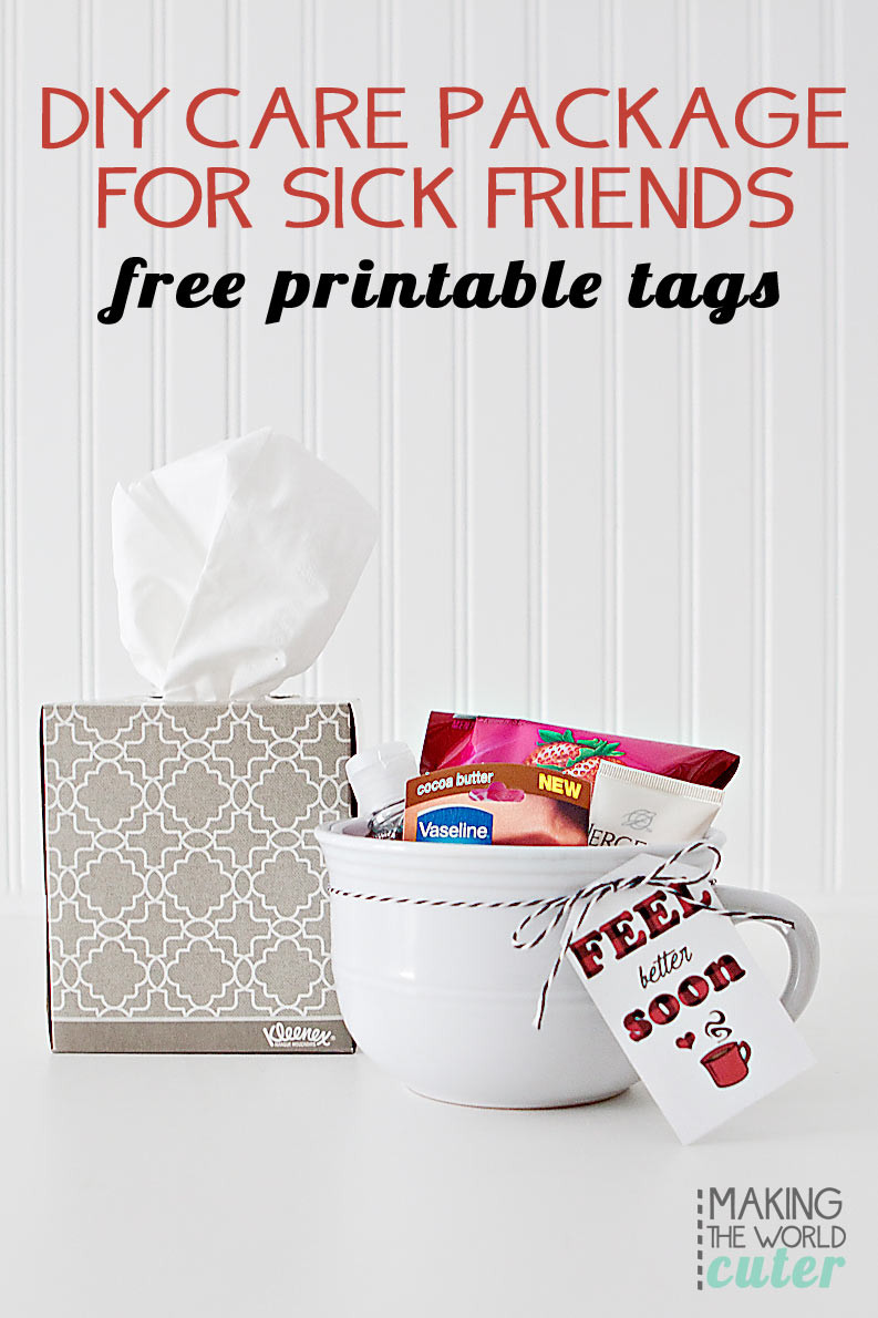 Best ideas about Gift Ideas For Sick Friend . Save or Pin Sick Friend Care Package Now.