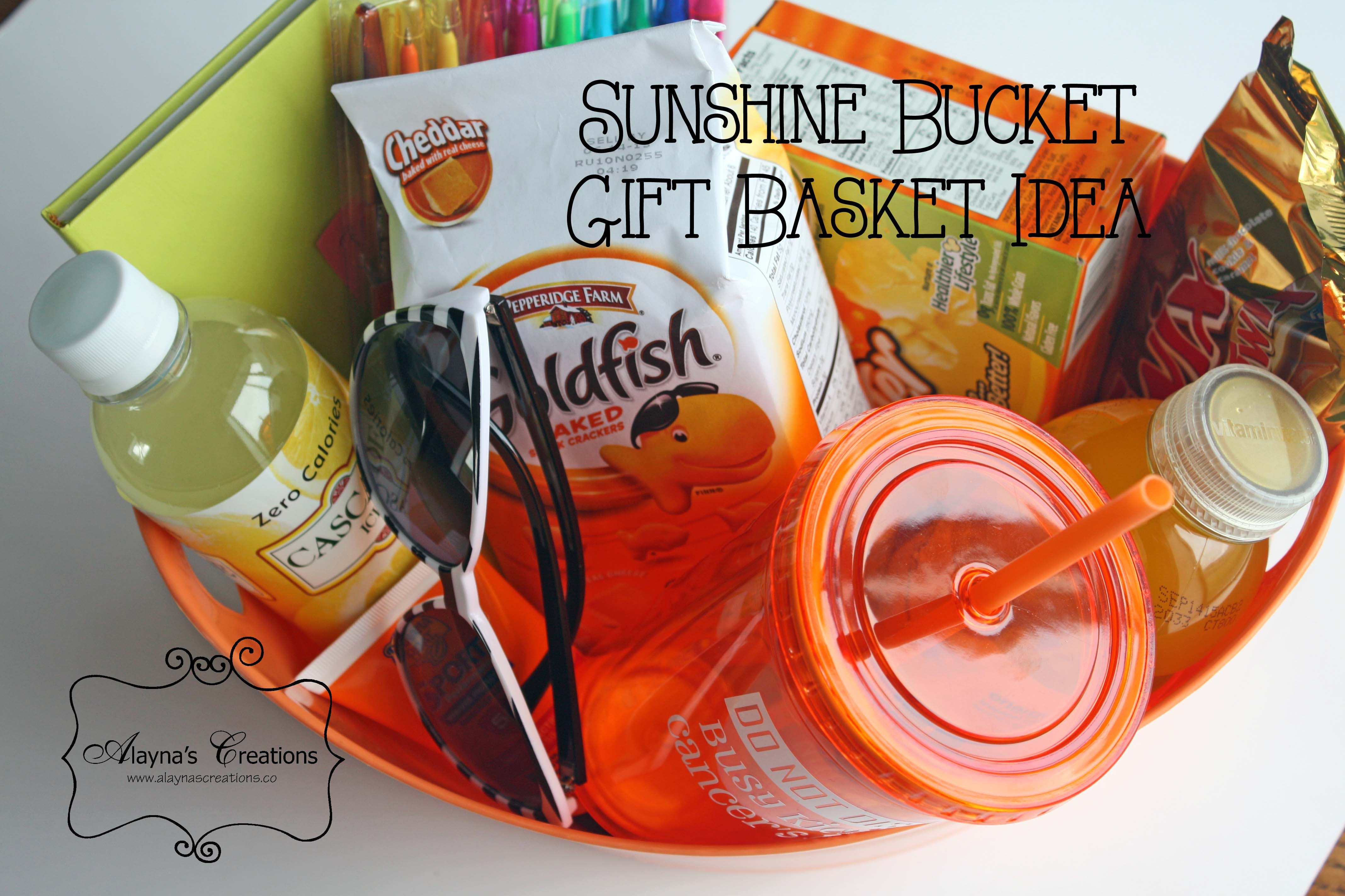 Best ideas about Gift Ideas For Sick Friend . Save or Pin Sunshine Bucket Gift Idea DIY home decor and crafts Now.
