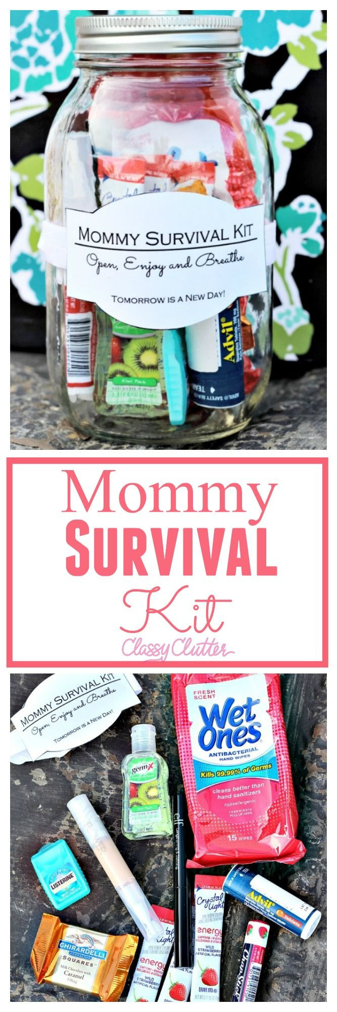 Best ideas about Gift Ideas For Someone Who Just Had A Baby . Save or Pin 17 Best ideas about Survival Kit Gifts on Pinterest Now.