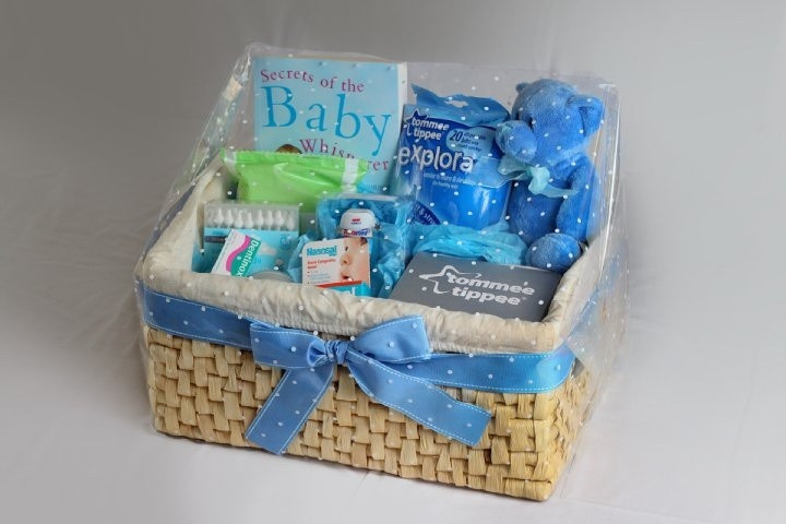 Best ideas about Gift Ideas For Someone Who Just Had A Baby . Save or Pin Baby Boy Hamper Gift Present Now.