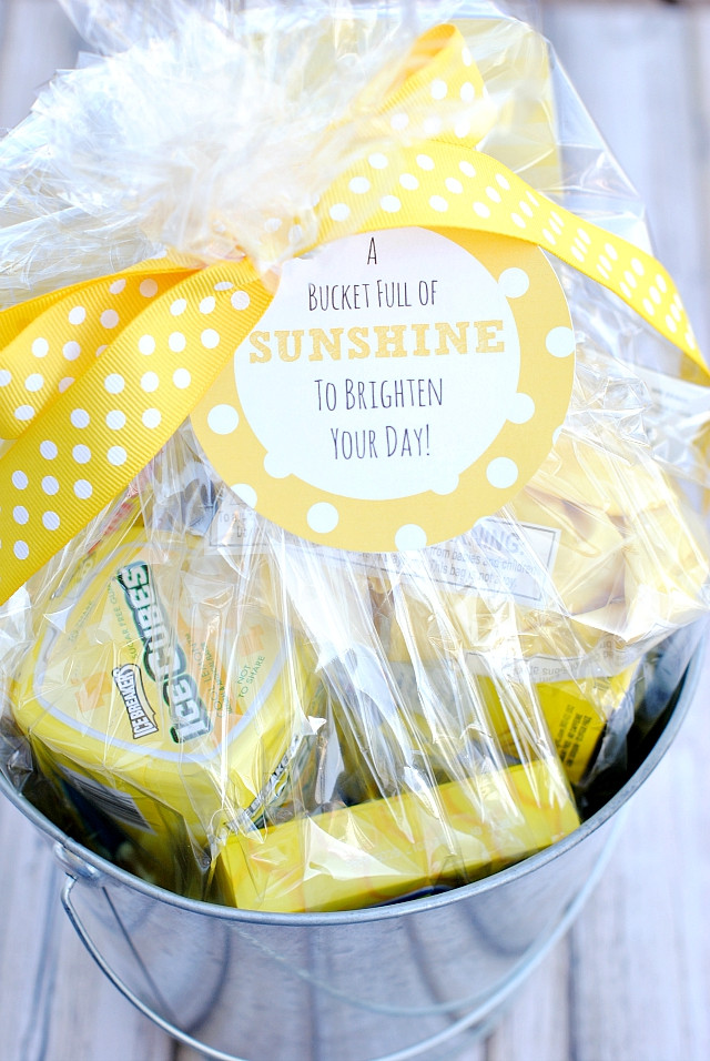 Best ideas about Gift Ideas For Someone Who Just Had A Baby . Save or Pin Bucket Full of Sunshine Gift Idea Crazy Little Projects Now.