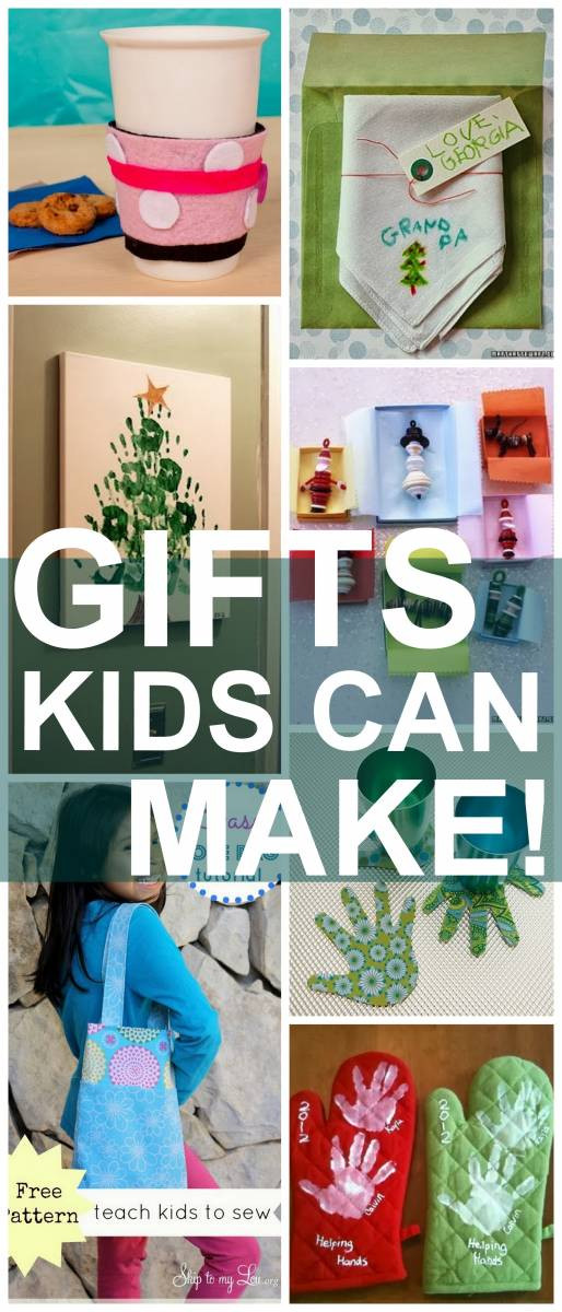 Best ideas about Gift Ideas For Someone Who Likes To Cook . Save or Pin 25 Christmas Gifts Kids Can Make Now.