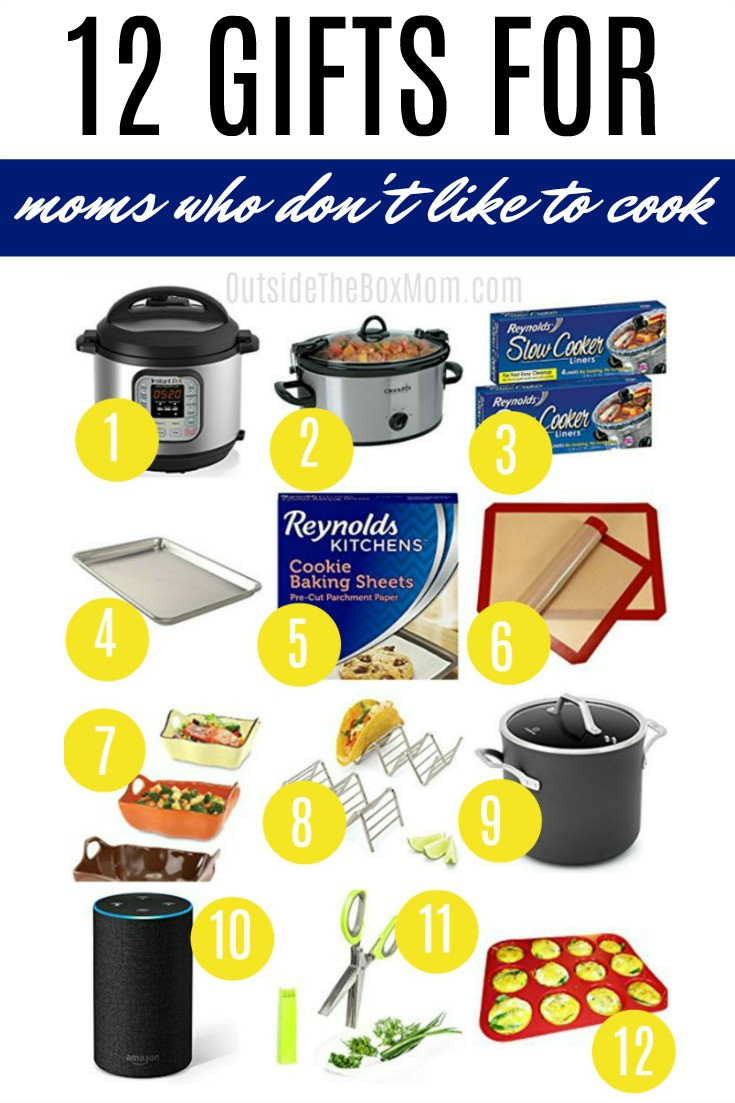 Best ideas about Gift Ideas For Someone Who Likes To Cook . Save or Pin 12 Gift Ideas for the Mom Who Doesn t Like to Cook Now.