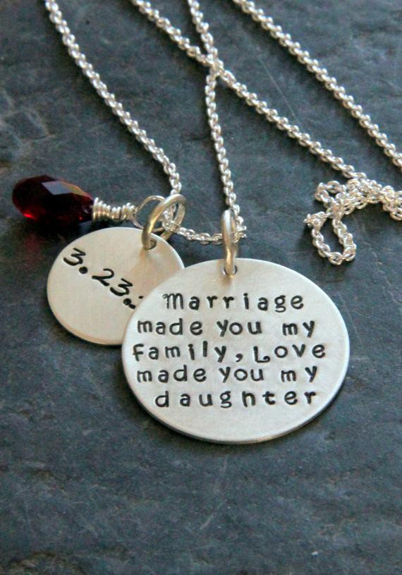 Best ideas about Gift Ideas For Son In Law . Save or Pin Gift For Daughter In Law Marriage Made You My Family Gift Now.