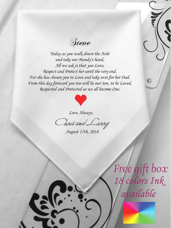 Best ideas about Gift Ideas For Son In Law . Save or Pin For My Son In Law Gift From Parents Bride Gifts His Now.