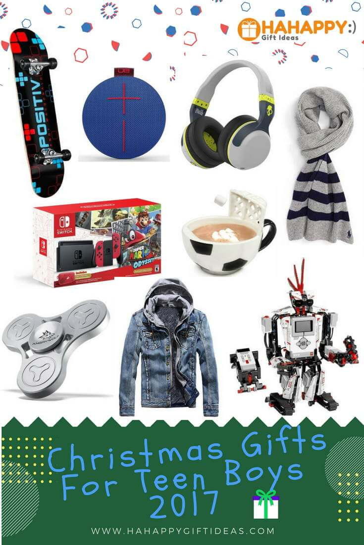 Best ideas about Gift Ideas For Teen Boys . Save or Pin Most Wished Christmas Gift Ideas For Teenage Boys 2017 Now.