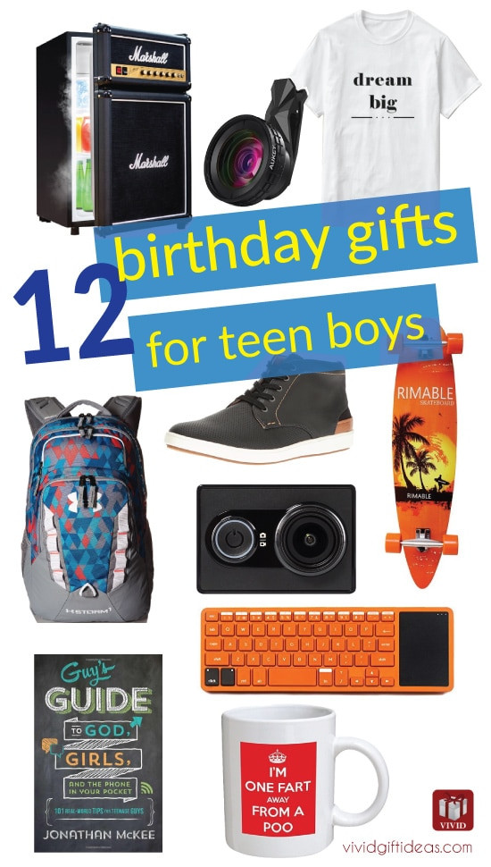 Best ideas about Gift Ideas For Teen Boys . Save or Pin Best Birthday Gift Ideas for Teen Boys Vivid s Now.