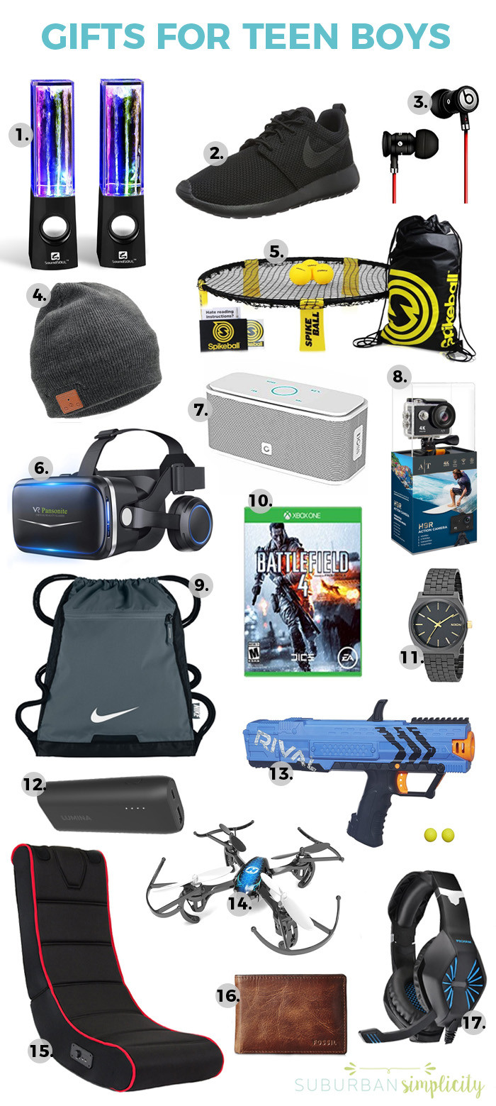 Best ideas about Gift Ideas For Teen Boys . Save or Pin 17 Awesome Gift Ideas for Teen Boys Now.