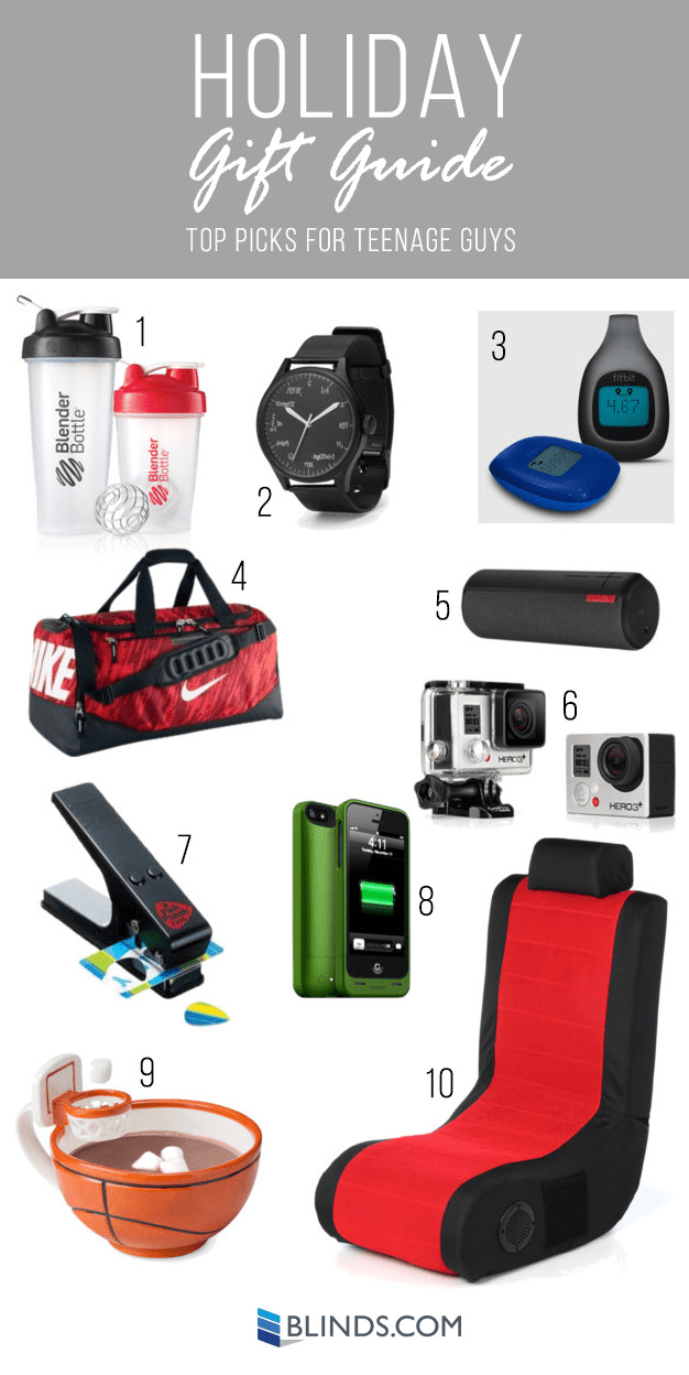 Best ideas about Gift Ideas For Teen Boys . Save or Pin 2014 Holiday Gift Guides Gifts for kids The Finishing Touch Now.