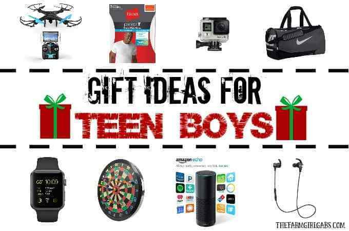 Best ideas about Gift Ideas For Teen Boys . Save or Pin Gift Ideas For Teen Boys The Farm Girl Gabs Now.