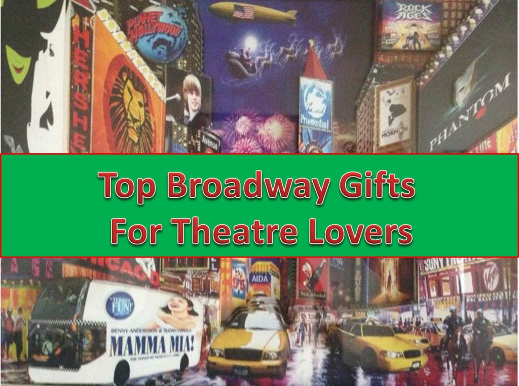 Best ideas about Gift Ideas For Theatre Lovers . Save or Pin 10 Cool Broadway Gifts You Must Have Now.