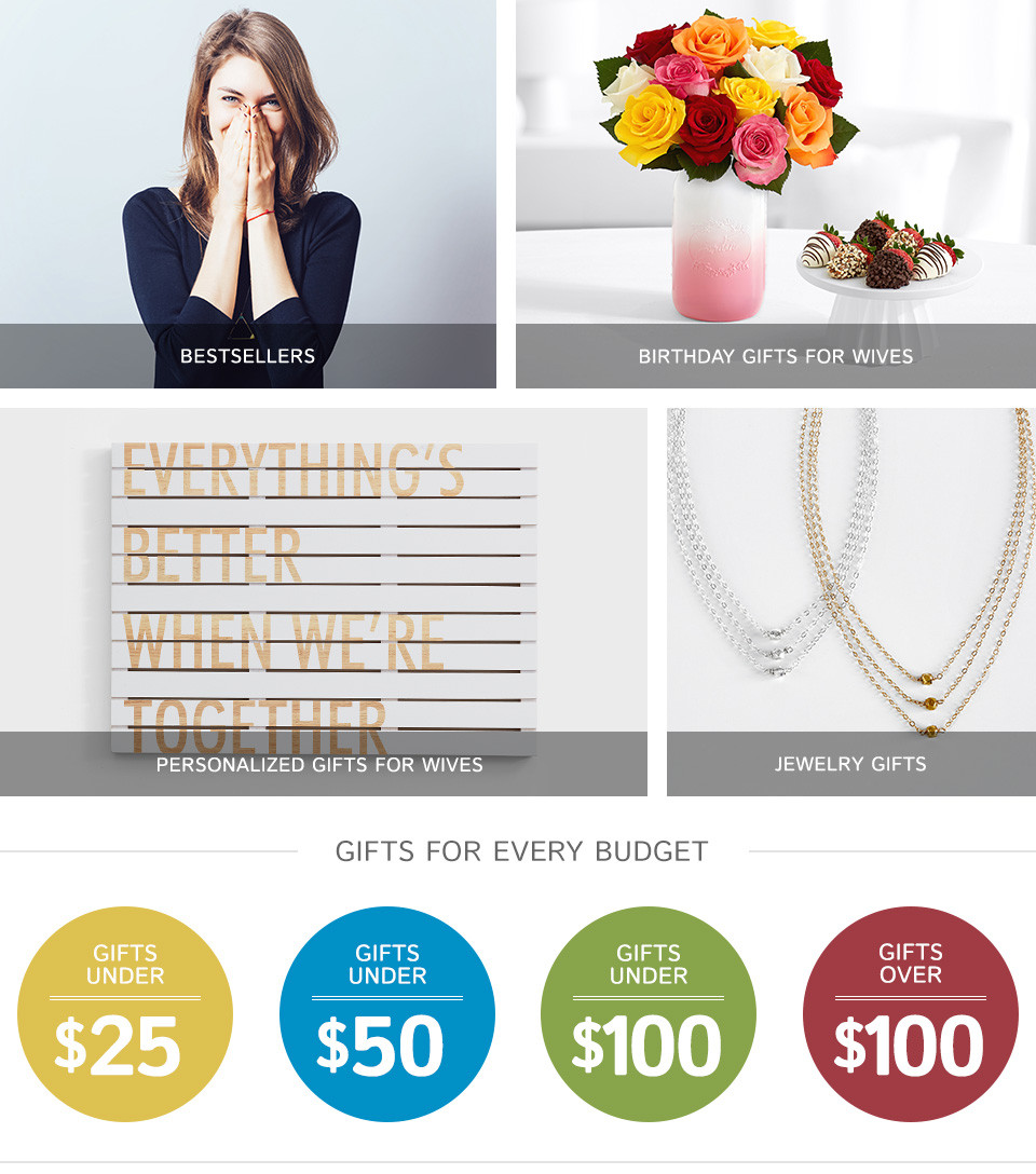 Best ideas about Gift Ideas For Wife . Save or Pin Gifts for Wife Now.