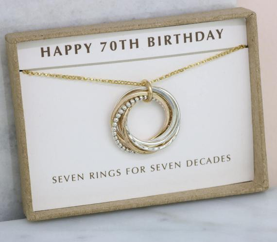 Best ideas about Gift Ideas For Womans 70Th Birthday . Save or Pin 70th birthday t 7 year anniversary t personalized 70th Now.