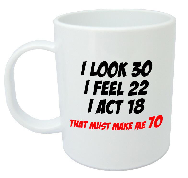 Best ideas about Gift Ideas For Womans 70Th Birthday . Save or Pin Makes Me 70 Mug Funny 70th Birthday Gifts Presents for Now.