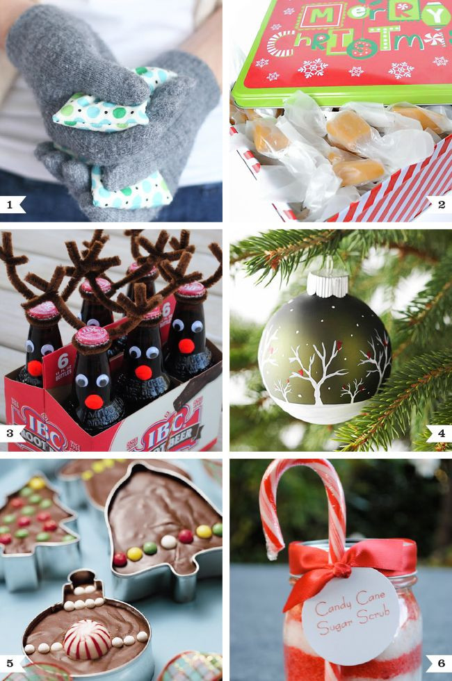 Best ideas about Gift Ideas For Work . Save or Pin 6 homemade inexpensive Secret Santa t ideas that work Now.