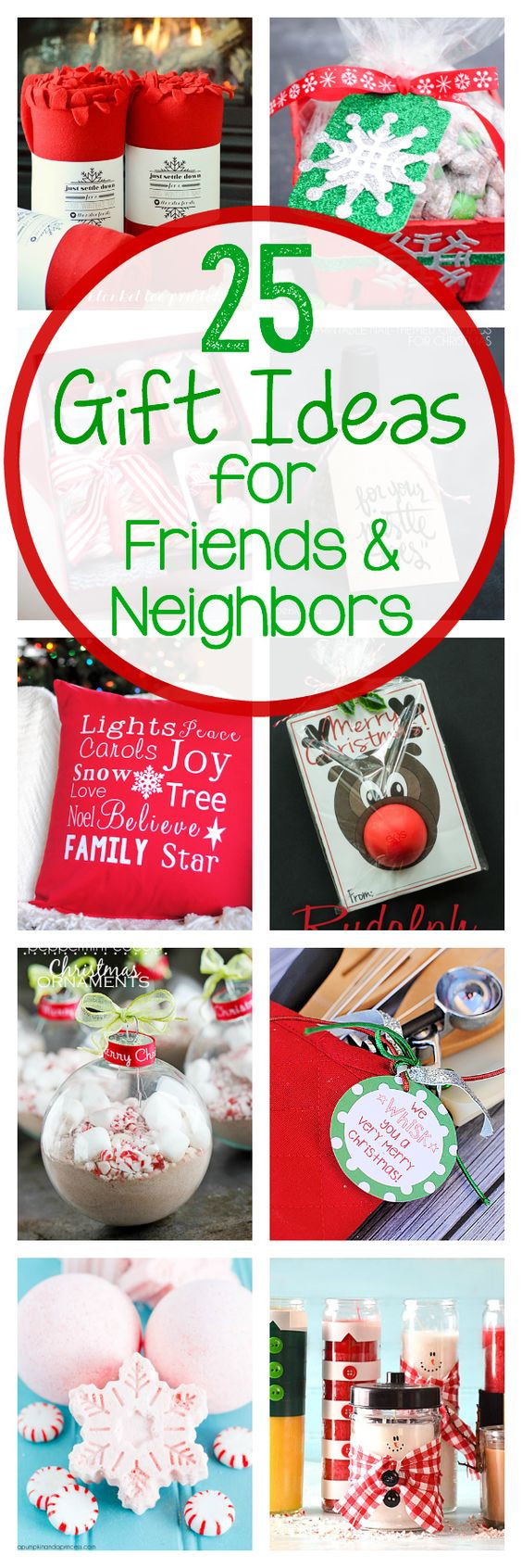 Best ideas about Gift Ideas Friends . Save or Pin 25 Gift Ideas for Friends & Neighbors Now.