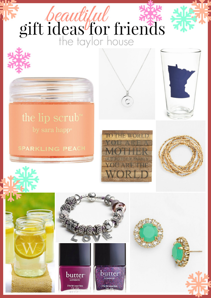 Best ideas about Gift Ideas Friends . Save or Pin Beautiful Gift Ideas for Friends Now.