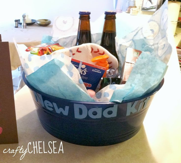 Best ideas about Gift Ideas From Baby To Dad . Save or Pin Best 25 New dad basket ideas on Pinterest Now.