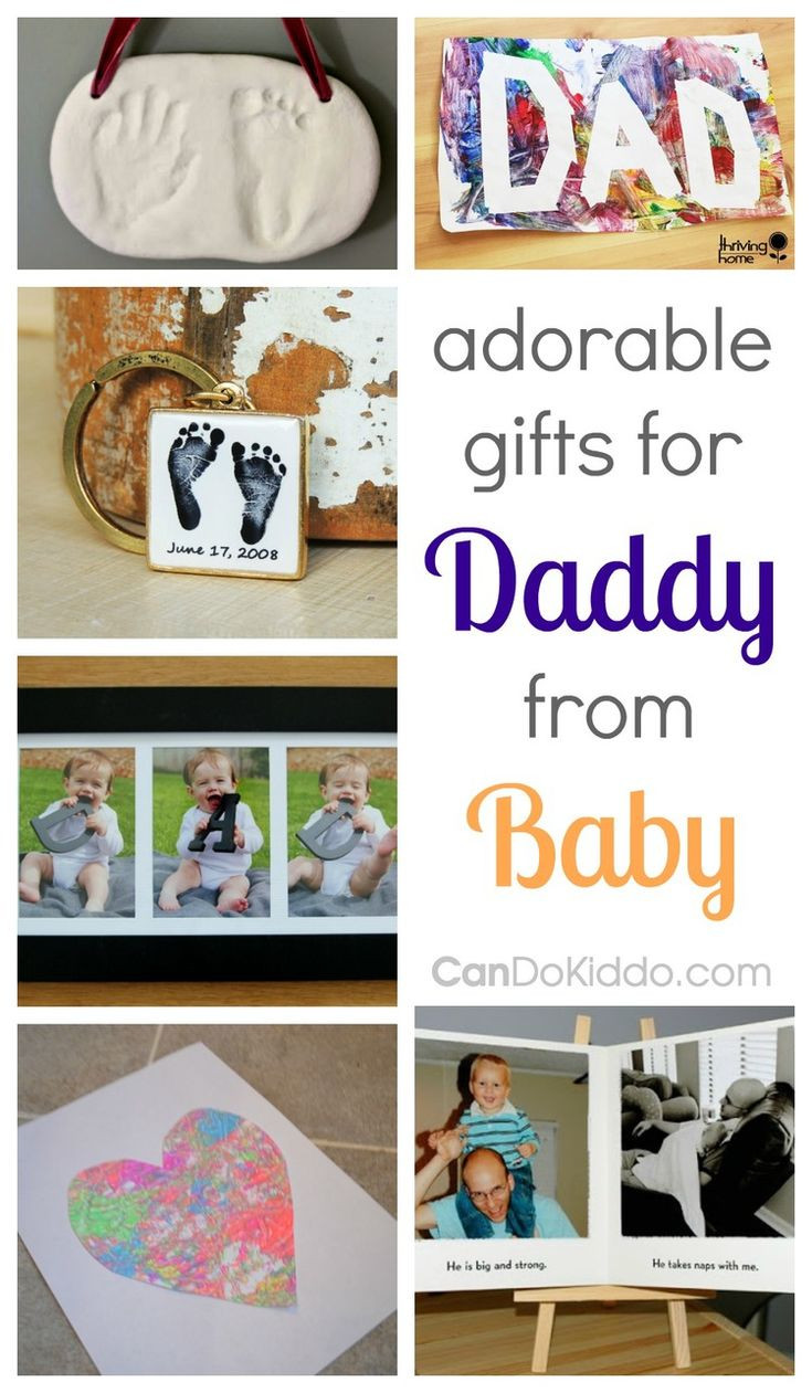 Best ideas about Gift Ideas From Baby To Dad . Save or Pin Adorable Gifts For Dad From Baby Now.