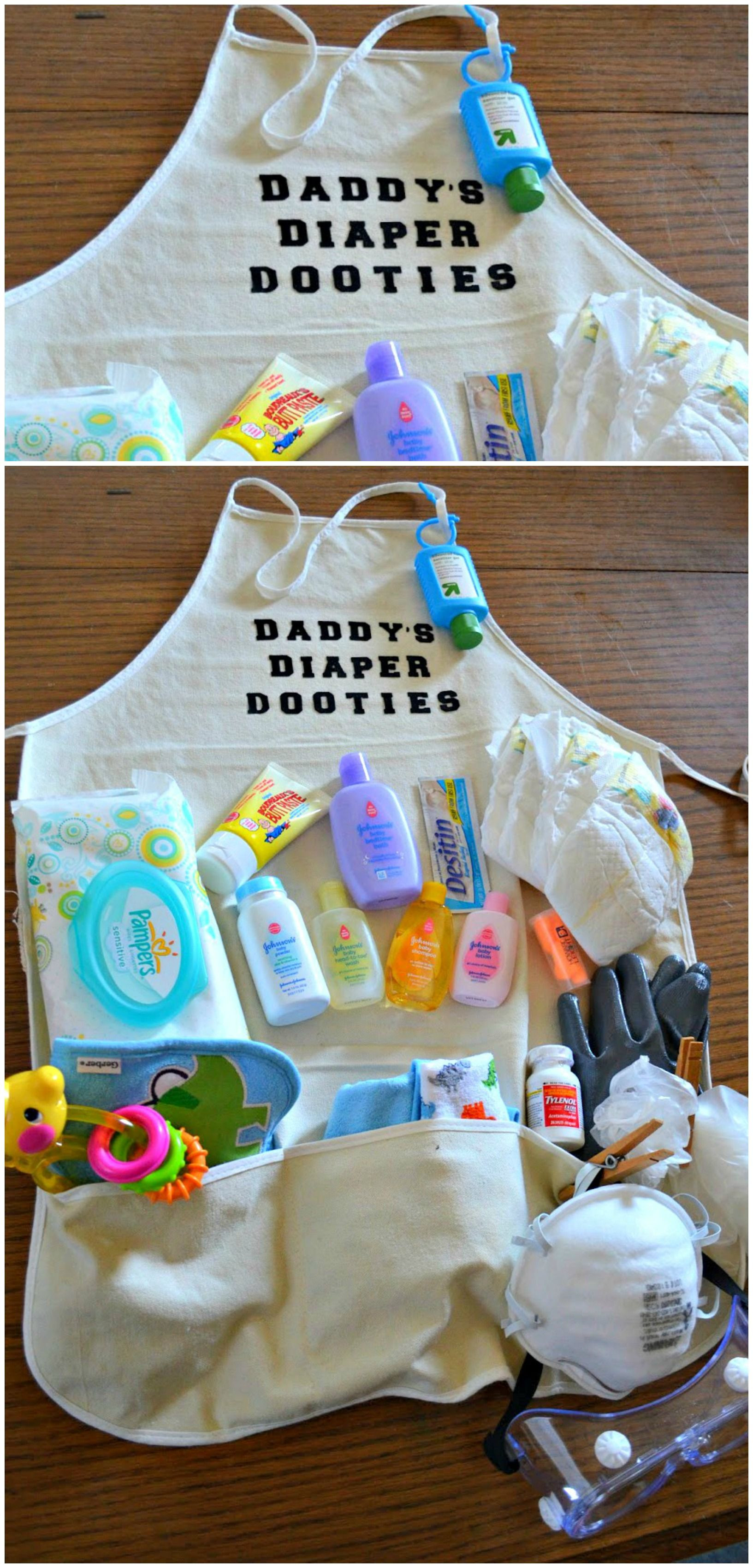 Best ideas about Gift Ideas From Baby To Dad . Save or Pin Daddy s Diaper Dooties Packed with diapers wipes Now.