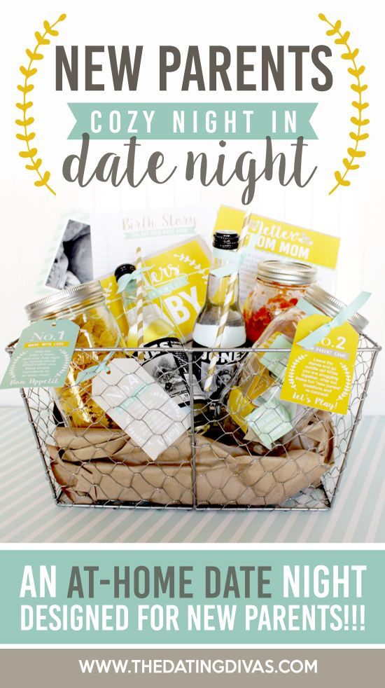 Best ideas about Gift Ideas Parents . Save or Pin New Parents Cozy Date Night Baby Shower Ideas Now.