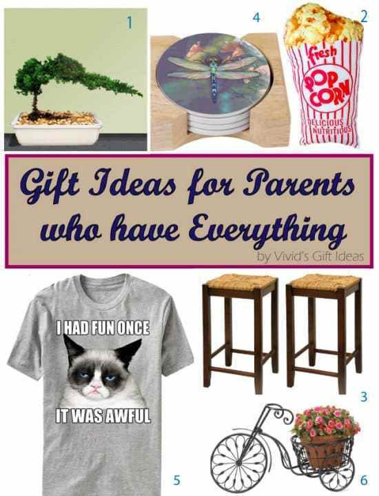 Best ideas about Gift Ideas Parents . Save or Pin Unique Gift Ideas for Parents Who Have Everything Vivid s Now.