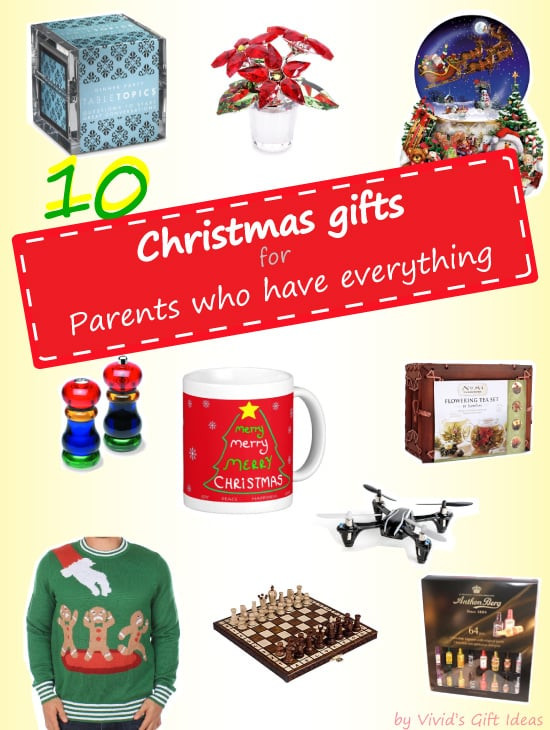 Best ideas about Gift Ideas Parents . Save or Pin 2014 Christmas Gift Ideas For Parents Who Have Everything Now.