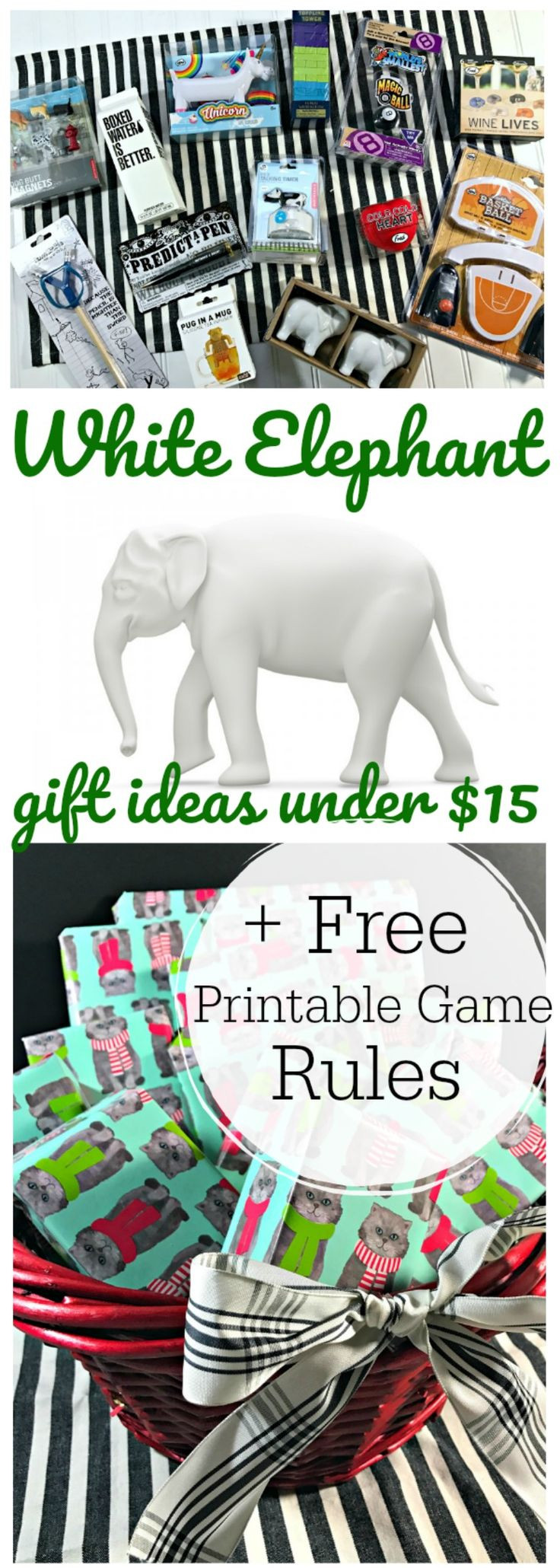 Best ideas about Gift Ideas Under $15 . Save or Pin Best 25 White elephant rules ideas on Pinterest Now.