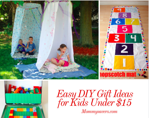 Best ideas about Gift Ideas Under $15 . Save or Pin Easy DIY Gift Ideas for Kids Under $15 Mommysavers Now.