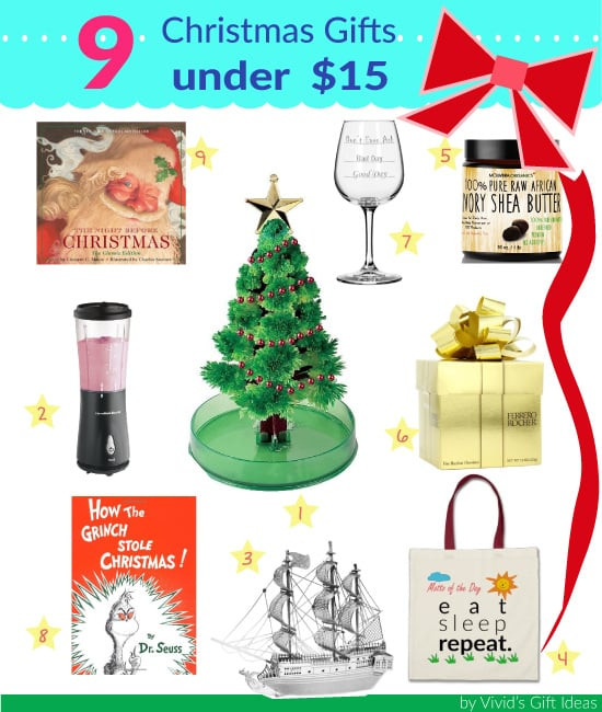 Best ideas about Gift Ideas Under $15 . Save or Pin Christmas Gifts under $15 Great for Gift Exchange Now.