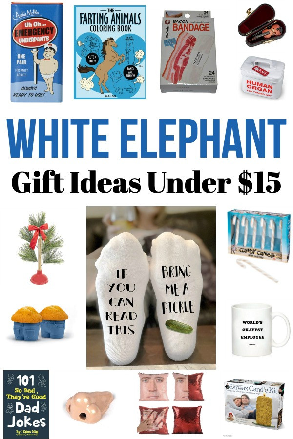 Best ideas about Gift Ideas Under $15 . Save or Pin White Elephant Gift Ideas Under $15 Now.