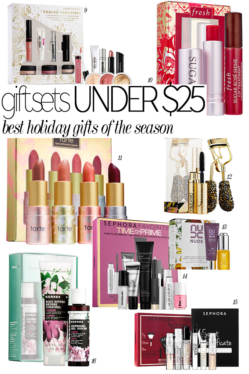 Best ideas about Gift Ideas Under 25.00 . Save or Pin Best Holiday Beauty Gift Sets Under $25 00 Citizens of Now.