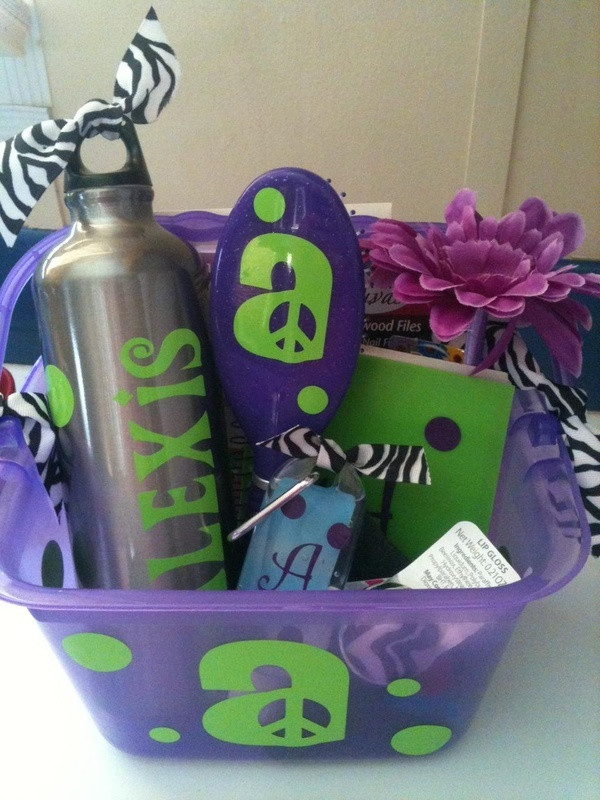 Best ideas about Gift Ideas Under 25.00 . Save or Pin 1000 ideas about Teen Gift Baskets on Pinterest Now.