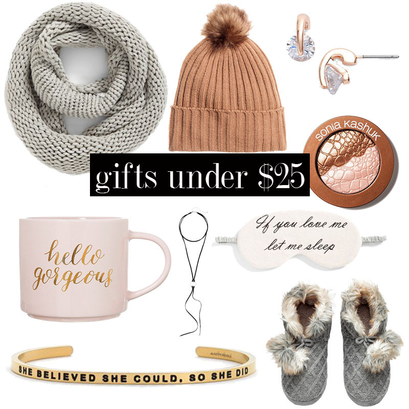 Best ideas about Gift Ideas Under 25.00 . Save or Pin 25 Popular Holiday Gifts for Her Under $25 Citizens of Now.
