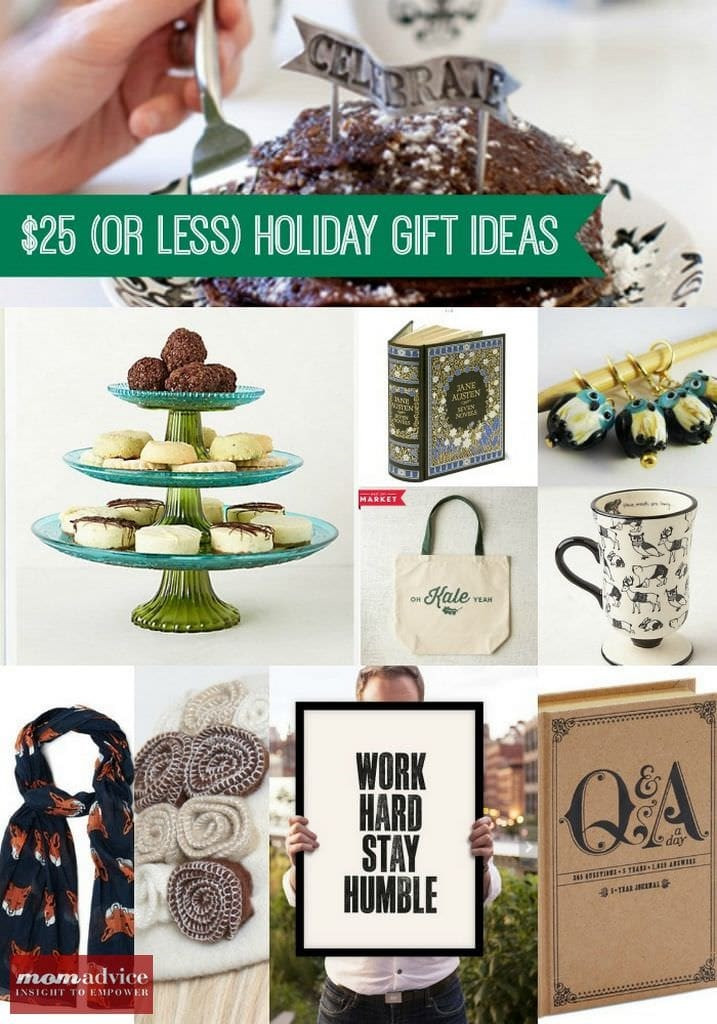 Best ideas about Gift Ideas Under $25 . Save or Pin Christmas Gift Ideas Under $25 MomAdvice Now.