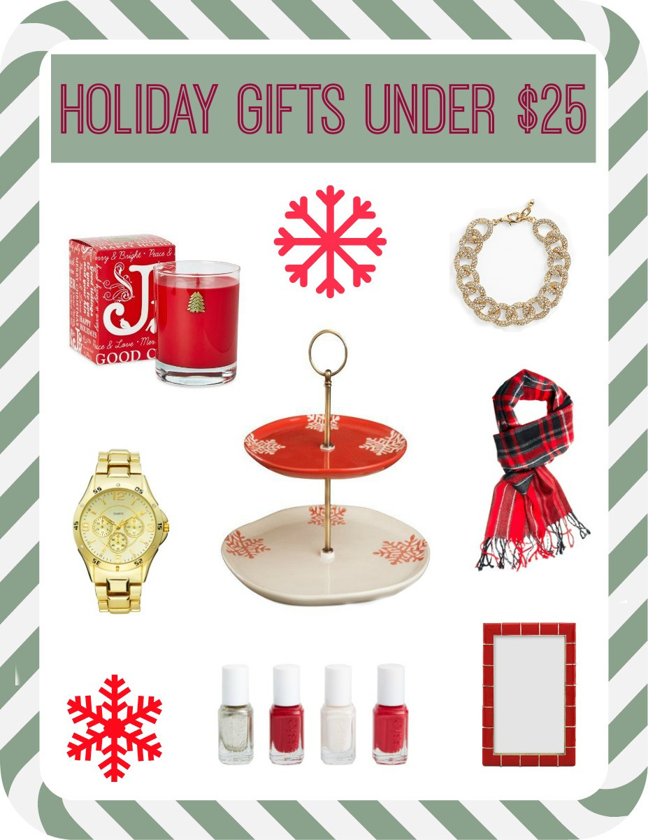 Best ideas about Gift Ideas Under $25 . Save or Pin Holiday Gift Ideas Under $25 Now.
