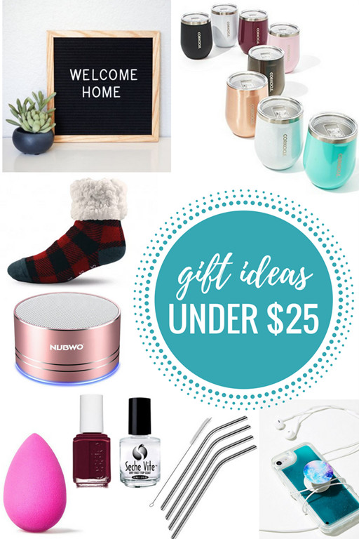Best ideas about Gift Ideas Under $25 . Save or Pin Gift Ideas Under $25 Gift Guide Now.