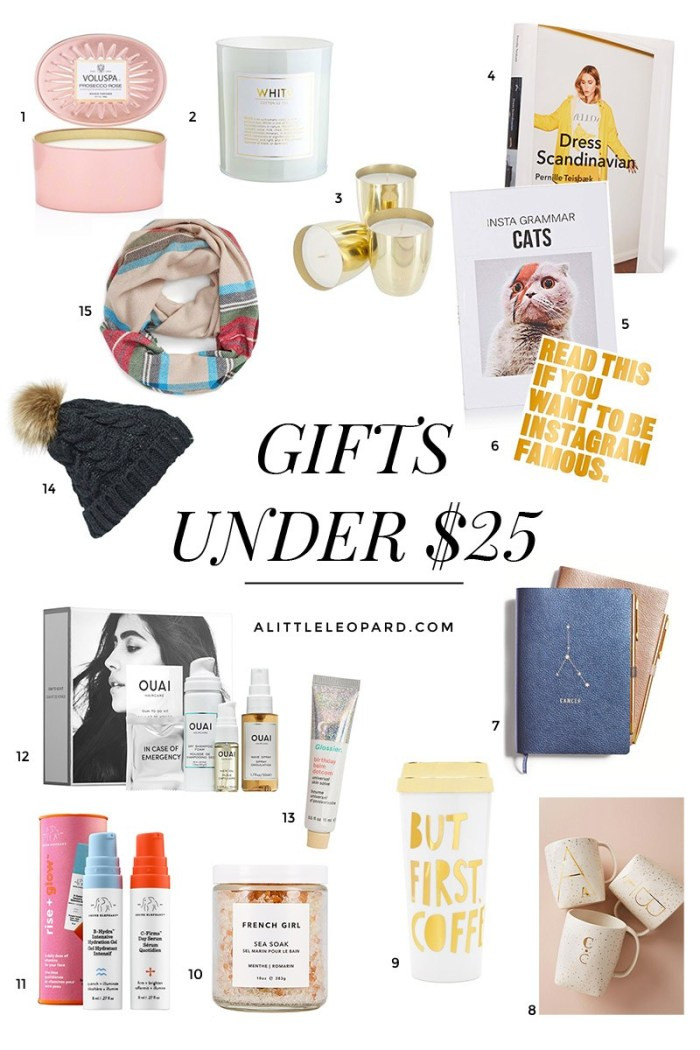 "Best ideas about Gift Ideas Under $25 . Save or Pin Gift Ideas Under $25 That Don t Scream ""I m a Bud "" Now."
