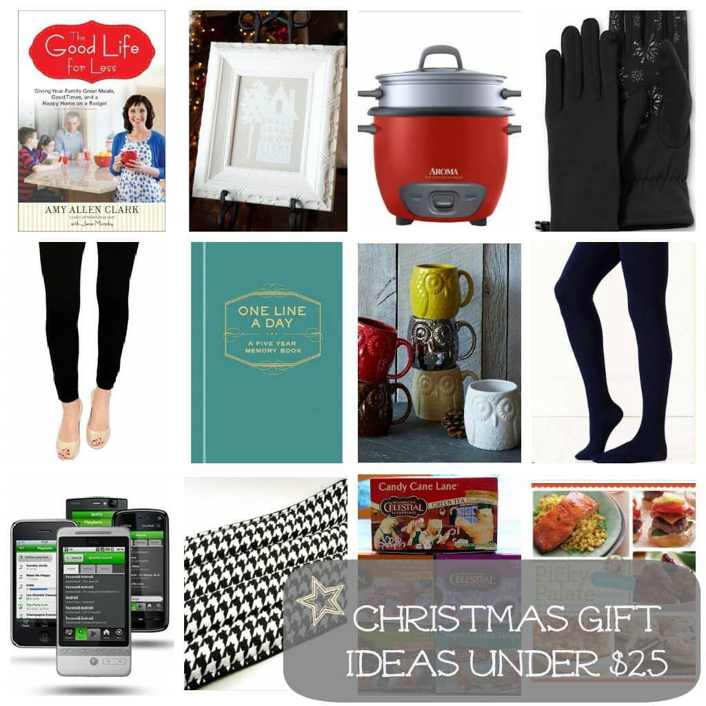 Best ideas about Gift Ideas Under $25 . Save or Pin Christmas Gift Ideas Under $25 For the La s MomAdvice Now.