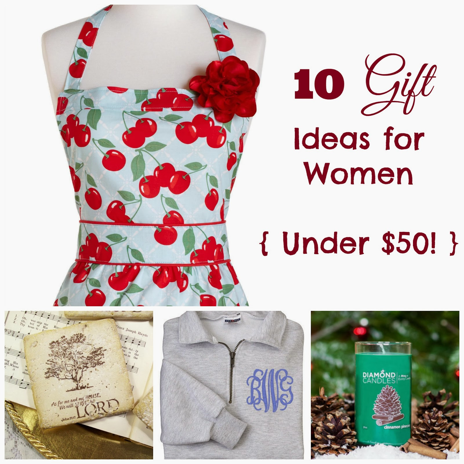 Best ideas about Gift Ideas Under 50 . Save or Pin Where Joy Is 10 Gift Ideas for Women Under $50 Now.