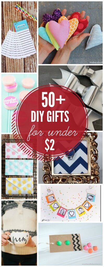 Best ideas about Gift Ideas Under 50 . Save or Pin 50 Inexpensive DIY Gift Ideas Now.