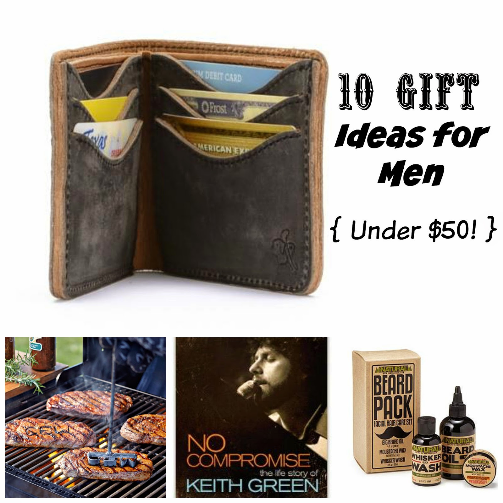 Best ideas about Gift Ideas Under 50 . Save or Pin Where Joy Is 10 Gift Ideas for Men Under $50 Now.
