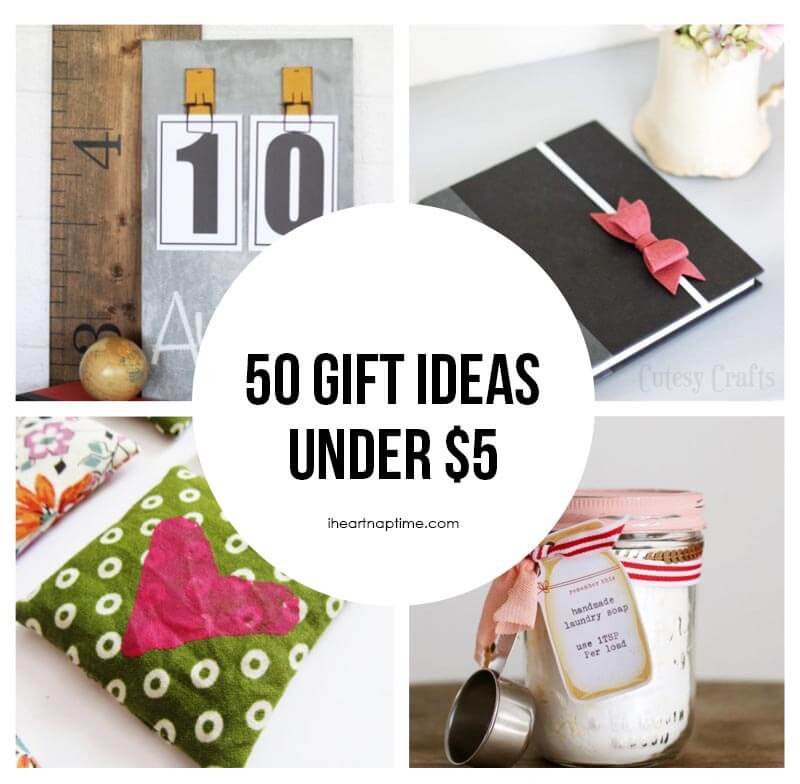 Best ideas about Gift Ideas Under 50 . Save or Pin 50 homemade t ideas to make for under $5 I Heart Nap Time Now.